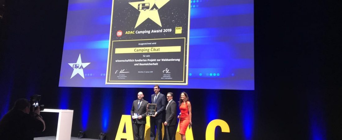 CAMP ČIKAT WINS ADAC INNOVATIVE PROJECT AWARD